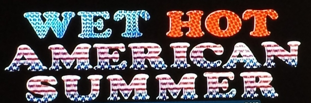 Title card from Wet Hot American Summer