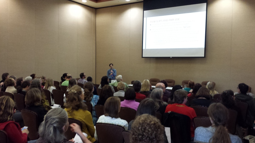 Full house at my reel librarians program at the OLA Conference 2016