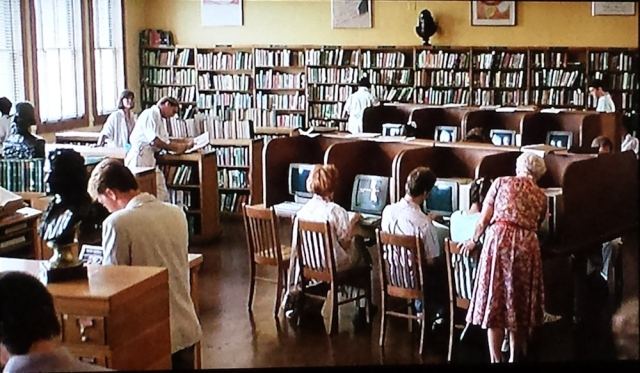 The school library in Pretty in Pink (1986)