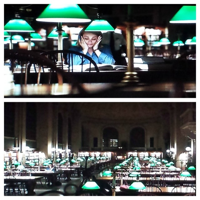 Boston Public Library library scene in Spotlight (2015)