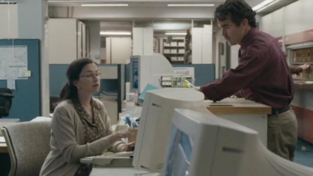Reel Librarians | News librarian in 'Spotlight' (2015)