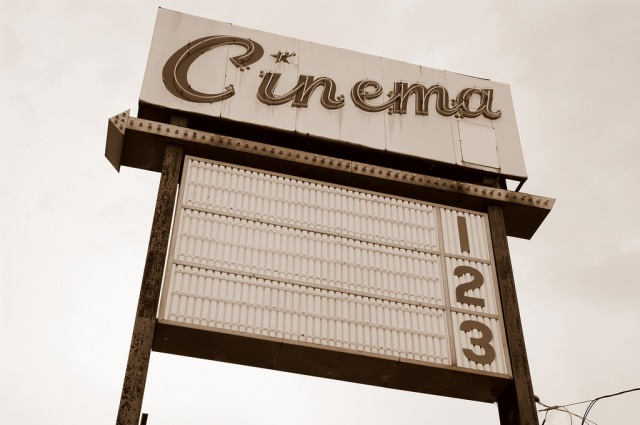 """Cinema 1 2 3"" by Steve Snodgrass is licensed under CC BY 2.0"