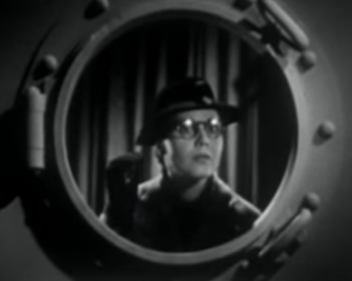 Opening credits in Navy Blues (1937)