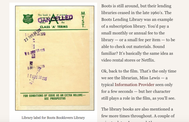 Reel Librarians screenshot