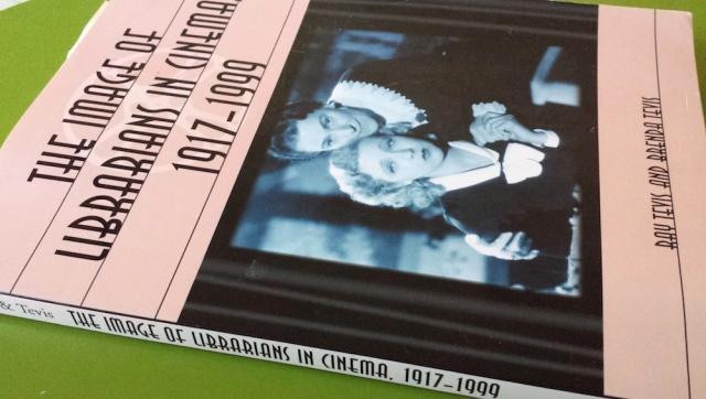 Reel Librarians | Front cover of 'The Image of Librarians in Cinema, 1917-1999'