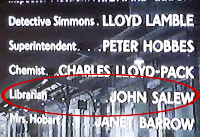 Reel Librarians | End credits of 'Curse of the Demon' (1957)