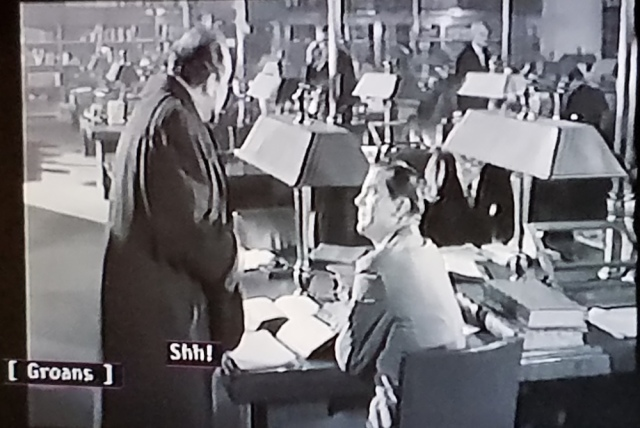 Reel Librarians | Screenshot from 'Curse of the Demon' (1957)