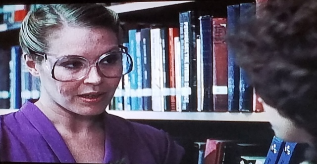 Library scene in The Pit (1981)