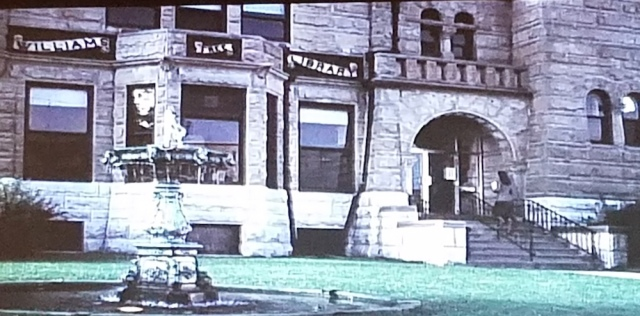 Williams Free Library exterior seen in The Pit (1981)