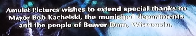 Special thanks in end credits of The Pit (1981)