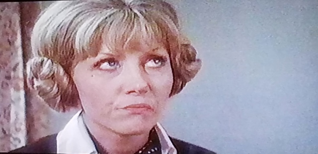 Closeup of Registrar/Librarian character in The Wicker Man (1973)