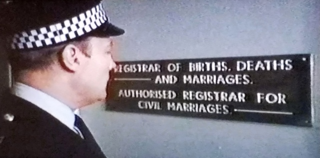 Registrar sign in The Wicker Man (1973)