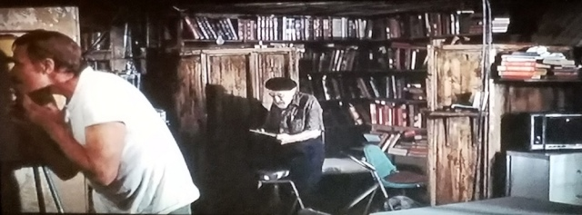 Private library in Soylent Green (1973)