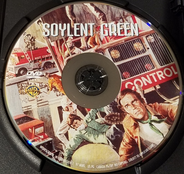 Reel Librarians| DVD cover for 'Soylent Green' (1973)