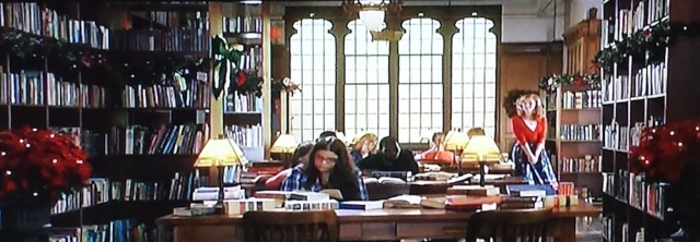 Quiet study zone in the library