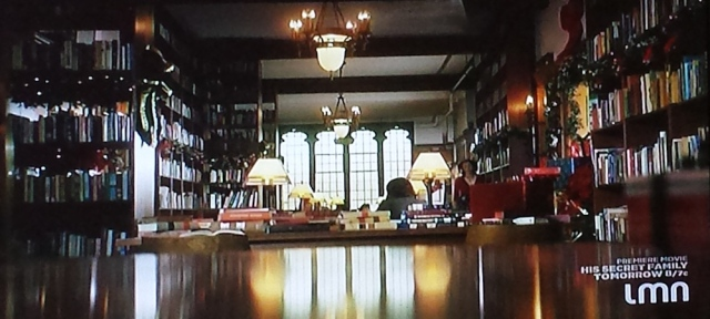 Interior shot of the Shaughnessy Library