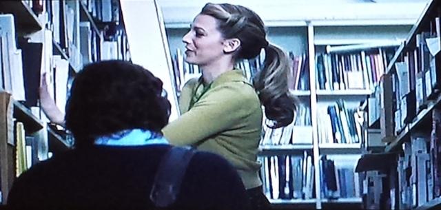 Library ladder scene alert!