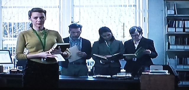 Reel Librarians | Screenshot from 'The Age of Adaline' (2015)