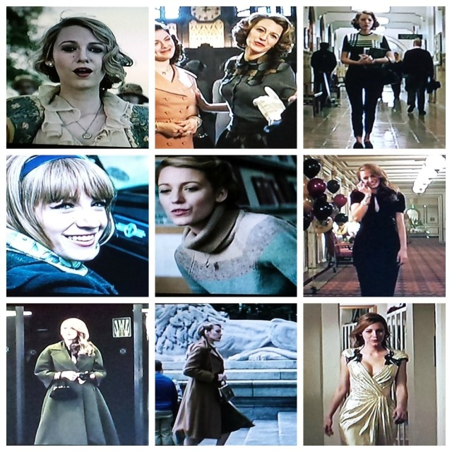 Reel Librarians | A collage of Adaline's style through the decades
