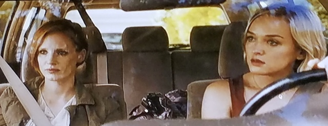 Katy drives Eleanor to the airport near the end of The Disappearance of Eleanor Rigby (2014)