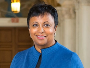 """Carla Hayden"" by the Library of Congress is in the public domain"