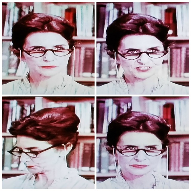Reel Librarians | Collage of 'Fowler the Scowler' from 'Teenage Mother' (1967)