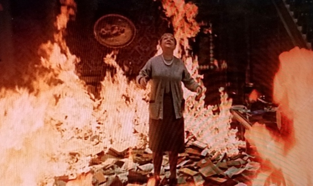 Book burning by choice