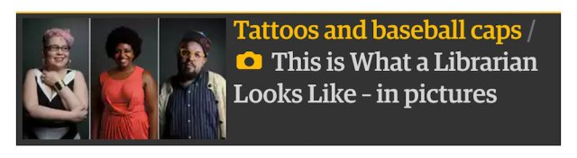 The Guardian's librarian fashion photo essay