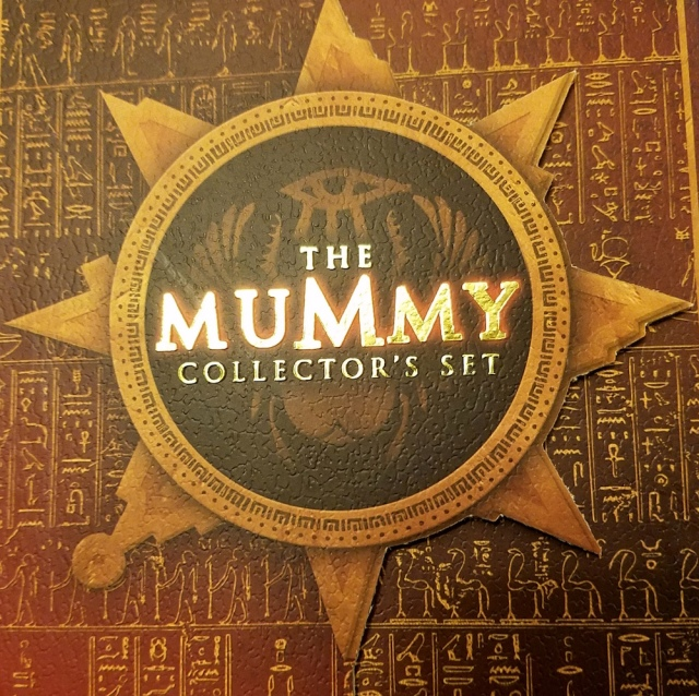 My DVD copy of The Mummy (1999)