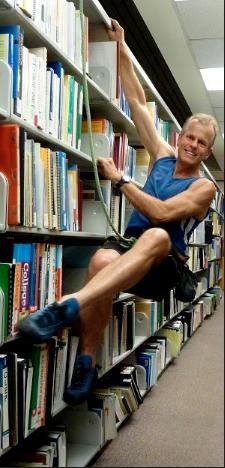 Portrait of a librarian, Bill Nikolai.