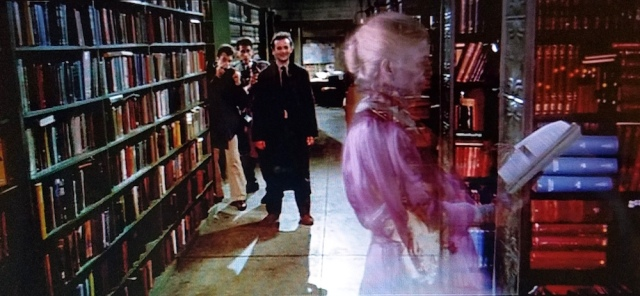 The library ghost in Ghostbusters (1984)