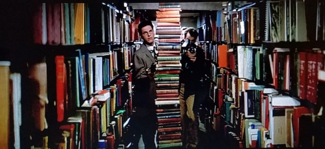 Reel Librarians | Paranormal book-stacking in a library scene from 'Ghostbusters' (1984)