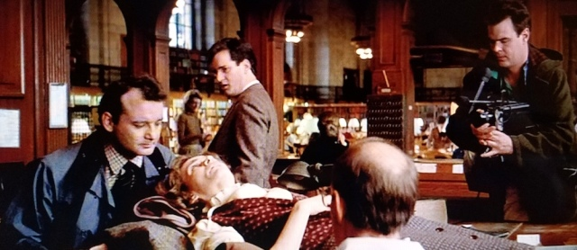 Reel Librarians | Not a meet-cute between the scared librarian and the Ghostbusters