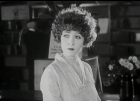 Claire Windsor as Amelia Briggs in The Blot (1921). Image is in the public domain.
