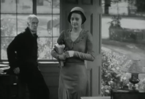 Opening library scene in 'Forbidden' (1932)