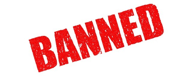 """Banned"" graphic by HypnoArt is licensed under CC0"
