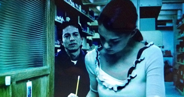 Reel Librarians | Screenshot from 'Abandon' (2002)
