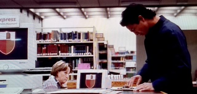 Reel Librarians | Screenshot from a deleted scene in Abandon' (2002)