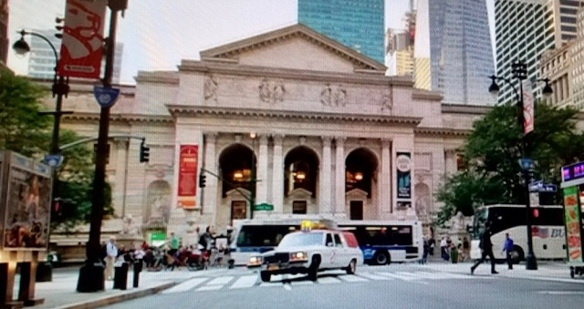 New York Public Library cameo in Ghostbusters (2016)