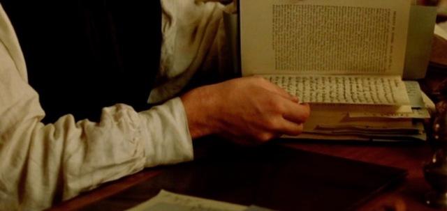 Randolph Henry Ash hides the letter