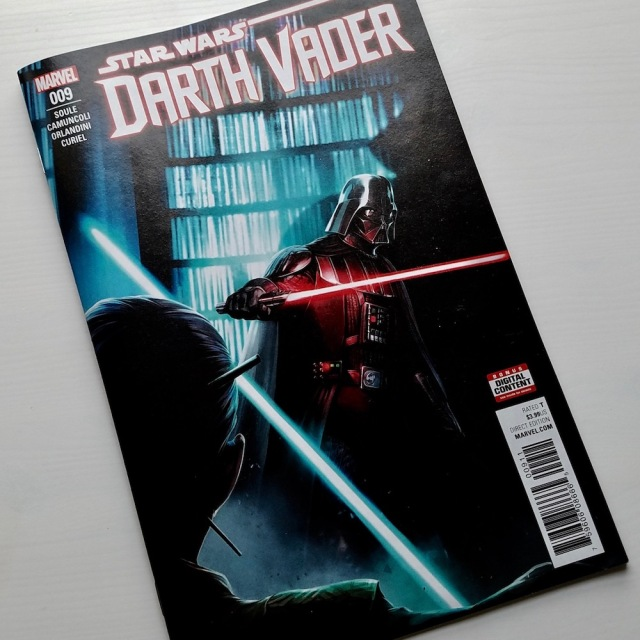 Cover of Darth Vader 9: The Dying Light, Part III
