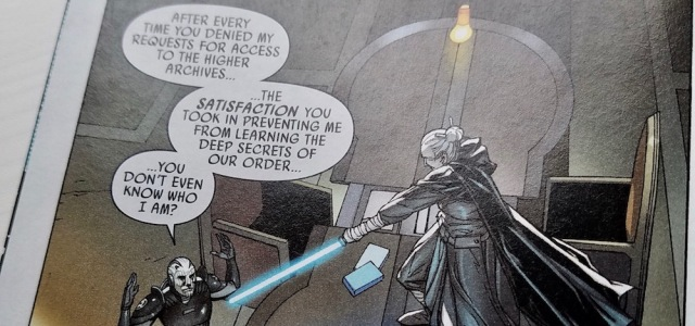 Excerpt from Darth Vader 9: The Dying Light, Part III