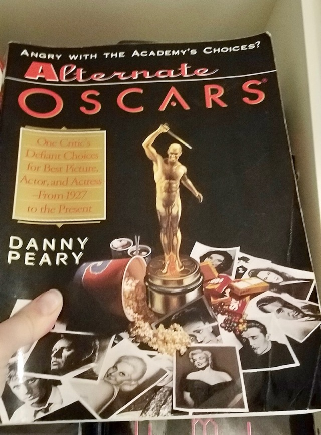 Closeup of Oscars book