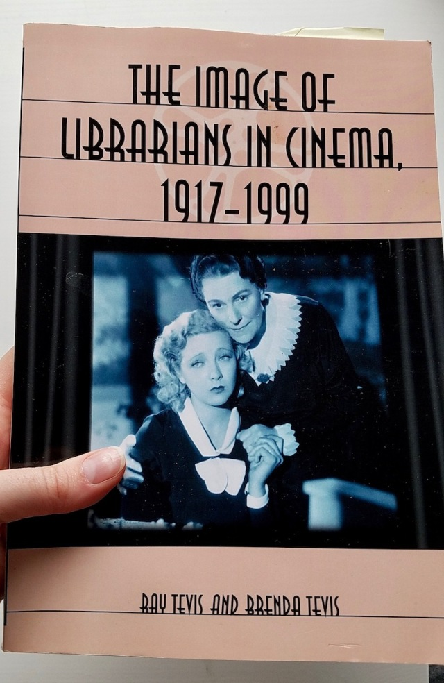 Closeup of The Image of Librarians in Cinema book