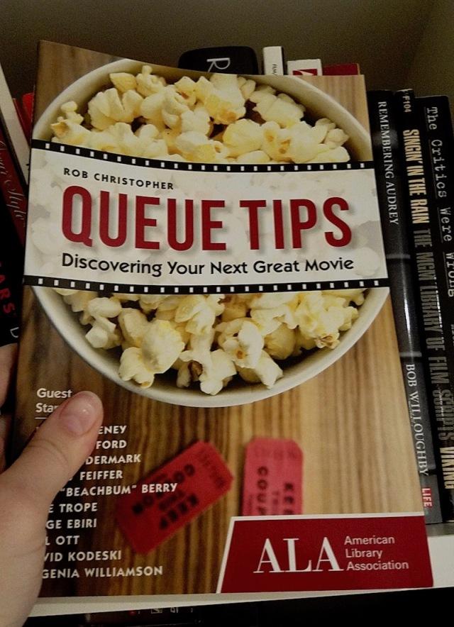 Closeup of Queue Tips book