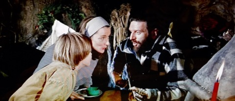 Christmas with a reel librarian in My Side of the Mountain (1969)