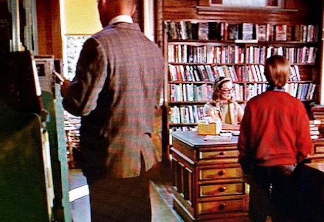Reel Librarians | Public library interior in 'My Side of the Mountain' (1969)