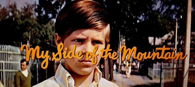 Reel Librarian | Title screen for 'My Side of the Mountain' (1969)