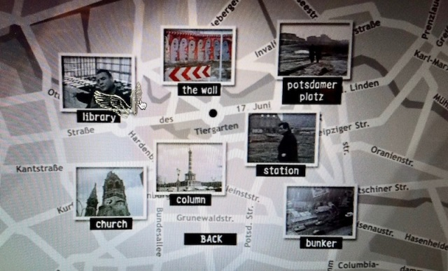 Interactive map on DVD of Wings of Desire (1987)
