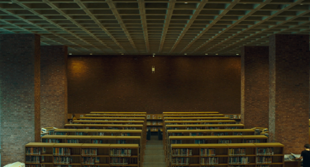 Library interior in Columbus (2017)